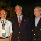 L-R: Ron Spring, Mans Lejeune and Mike Fairley at the Finat Congress in 2008