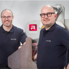 Bjarke Nielsen (left), CTO and founder, and Henrik Haagensen, managing director, Refine Finishing