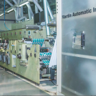 One of the eight Gidue presses with Martin Automatic machine at Flexiprint's new plant in Colombo