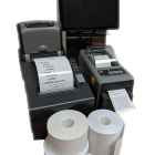 Applications for Print'N Stick linerless rolls include but are not limited to foodservice, warehouse distribution, retail, manufacturing, industrial and library