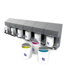 Tresu F10 iCon ink supply system automatically regulates the supply of ink and coating media to the flexo press