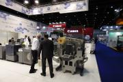 GM presented a DC330Nano on the Konica Minolta stand as part of this effort, alongside a bizhub Press C71cf