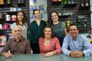 Standing L-R: Natalie Moranth (no longer with the company), María del Pilar Barreiro, Paula Sacco. Seated L-R: Waldemaro Sacco, Olga Lucia Osorio, Carlos Echavarría