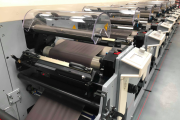 Watershed Packaging uses MPS flexo press technology to produce labels