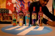The beta program for HP SmartStream Designer for Designers was launched with a non-commercial creative campaign for Smirnoff by the Yarza Twins
