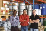 Pictured (from left): Primary Colour directors Jambo Sekgobela, Deon Cupido and Jason Jones