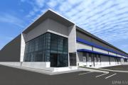 Currently under construction in the Lo Boza industrial sector adjacent to Santiago International Airport, this brand new facility will join UPM Raflatac's growing Americas terminal network