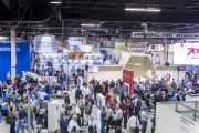 The show floor at Labelexpo Americas 2016
