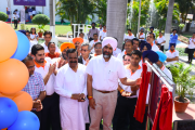 Manpreet Singh Badal, Honorable finance minister, Government of Punjab inaugurating the fifth BOPP line at Max Speciality Films