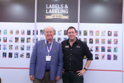 L-R: Jeffrey Arippol, chairman of Novelprint, and James Quirk, editor of L&L