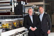 Lars Eriksen, president and CEO, and Peter Eriksen, COO, Nilpeter
