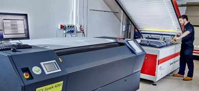 Creation operates an array of equipment to produce flexo plates