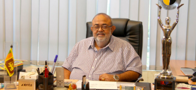 Sathis Abeywickrama, managing director at Flexiprint Sri Lanka