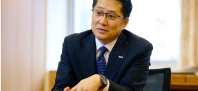 Ryutaro Kotaki, president and CEO of Auto-ID specialist Sato