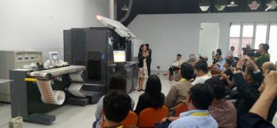 HP demo center in Jakarta