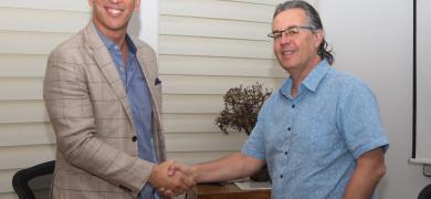 L-R: Ed Wiegand and Alon Bar-Shany