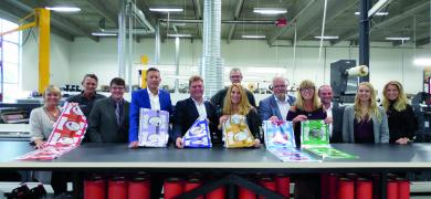 The project brought together supply chain partners at Denmark's Green Label