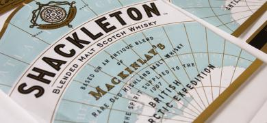 'Flexo print on paper – narrow' gold went to MCC Scotland for the Shackleton Front entry