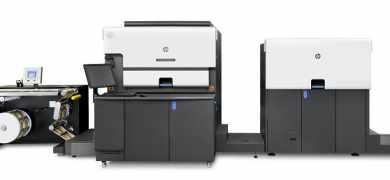 The HP Indigo 6900 digital press
