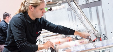 Bobst to run live demo of the latest M1 press at the show