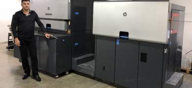 Moldova-based printer FlexLabel has added an HP Indigo WS6800 on top of the country's first digital press, an HP Indigo 4500