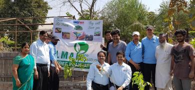 LMAI and Finsys partnered to plant 100 trees in Noida as a first step to help save the environment