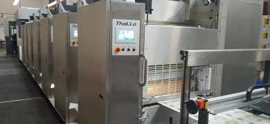 Lithotype has successfully commissioned the first Contiweb Thallo press in North America
