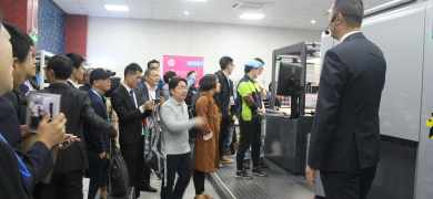 More than 50 delegates attended the HP Indigo 20000 digital press open day at Jiyin in Shanghai