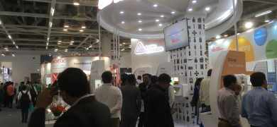 Avery Dennison stand at Labelexpo India