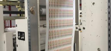 Flexo press and slitter enhance production of reel-fed labels