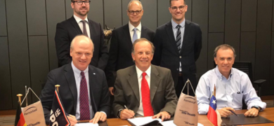 Ferrostaal Chile and Imagex sign the acquisition deal