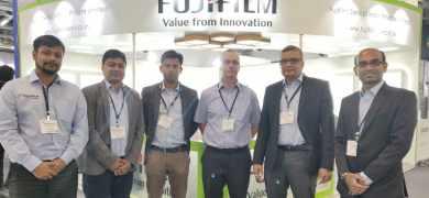 Fujifilm Sericol team at Labelexpo India 2018