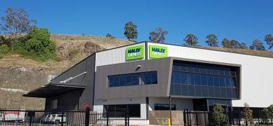 Australasian label production house Hally Labels has moved into a new Sydney site as it gears for the launch of its Hally Express in Australia