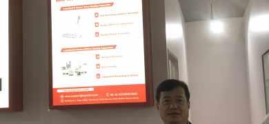 Yao Yi, president of Luster LightTech