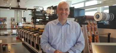 Otto Muskee previously worked with MPS in various positions so has existing technical knowledge of flexo and offset presses