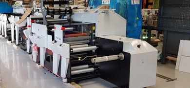 Norsk Etikett System upgrades flexo equipment with Mark Andy P5E
