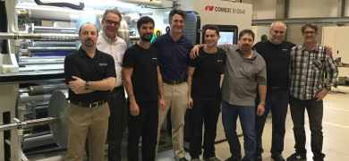 US flexible packaging printer upgrades converting capability with Comexi slitter with integrated laser module