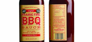 BBQ food brand turns to online printer to deliver short runs of labels