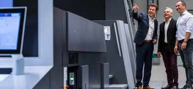 Switzerland's Rondo AG is conducting the world's first beta test in the area of pharmaceutical packaging with the Heidelberg Primefire 106.
