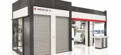 Miraflex S is is a compact CI press offered by Windmöller & Hölscher