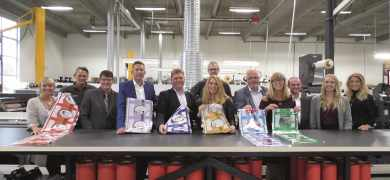 In a unique project to promote the latest in narrow web flexible package production, a cross-section of the supply chain united at Danish printer Green Label to showcase the work going on to support growth in this area