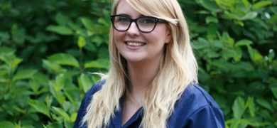 Mikaela Harding, product manager at Pulse Roll Label Products, completed her studies five years ago and has quickly become immersed in the world of print and ink