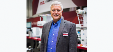 Mike Russell has been face of Mark Andy's international sales for many years