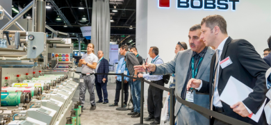 Bobst M1 shaft-driven press connected live to IoT network