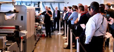 MPS and Domino hosted two open houses in Arnhem to demonstrate the EF Symjet
