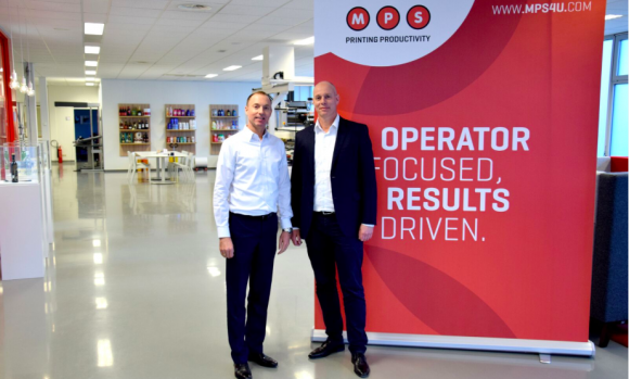 Tim Klappe, managing director Asia Pacific with Wim van den Bosch, MPS CEO