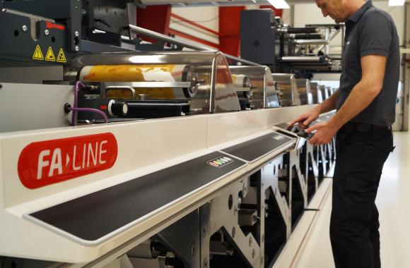 The 14-unit Nilpeter FA flexo press will primarily be used by Reflex Label Plus for high-end beverage labels, craft beers, wine, spirits, cosmetics and high-end combination labels