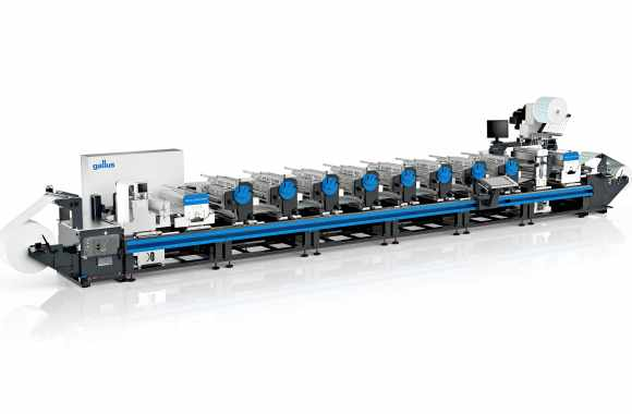 Gallus Labelmaster, Labelfire, RCS 430 and ECS 340 presses will be shown, alongside the as-yet unseen Smartfire