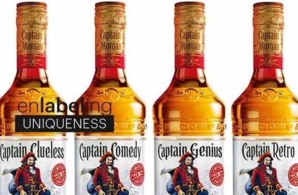 CCL Label provides Captain Morgan promotional labels