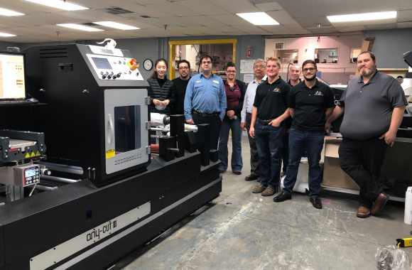 Canadian packaging specialist installs Anytron duo to bring label printing in-house